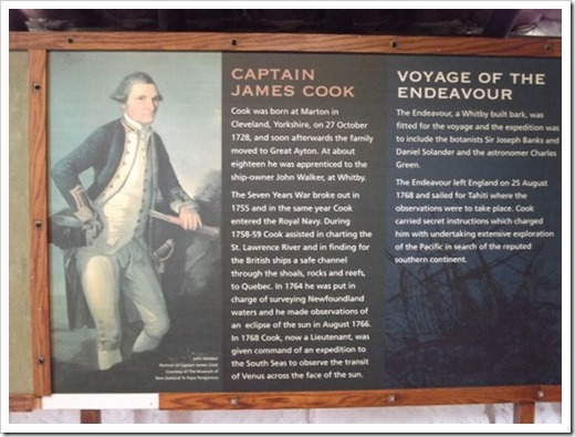 About Captain Cook