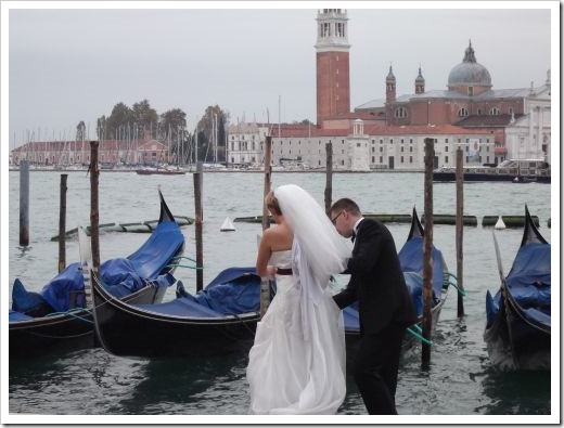 Bride and Groom, Venice