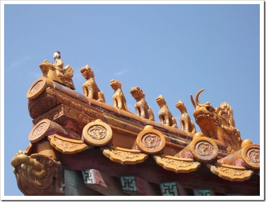 Forbidden City Roof