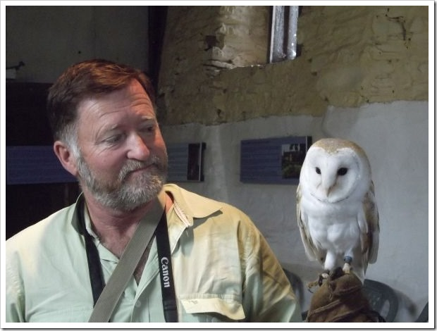 Hubby and Barn Owl