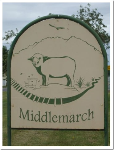 Middlemarch sign