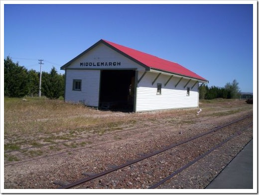 Middlemarch Railway Station