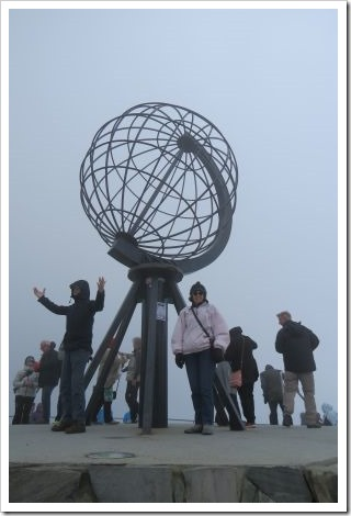 North Cape globe