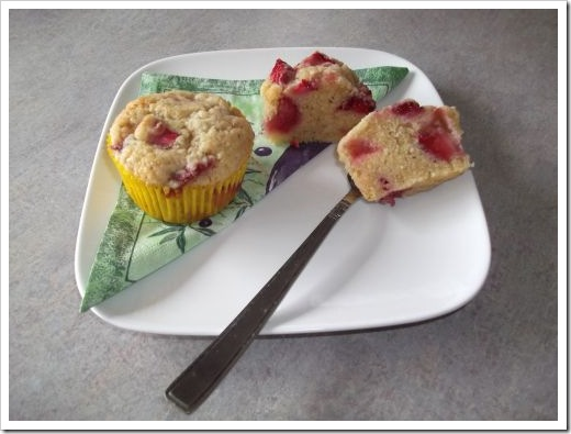 Strawbery Shortcake Muffins