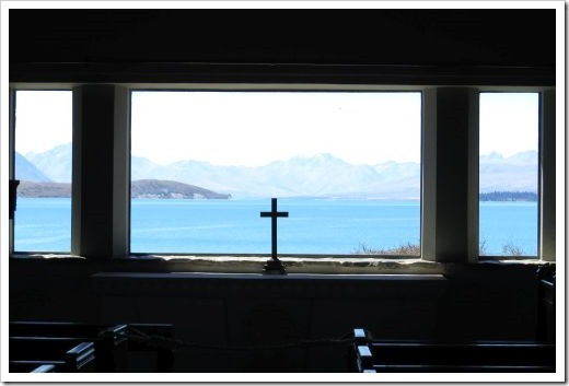 View from Church of the Good Shepherd