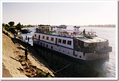 Our Ship for the Nile Trip